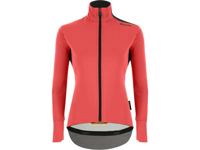 Santini Vega Xtreme Cut Winter Jacket Women, rojo